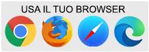 usa il tuo browser